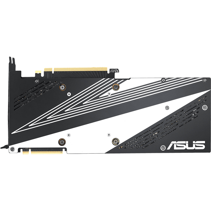 ASUS Dual GeForce RTX 2080 Graphics Card DUAL-RTX2080-8G bottom view