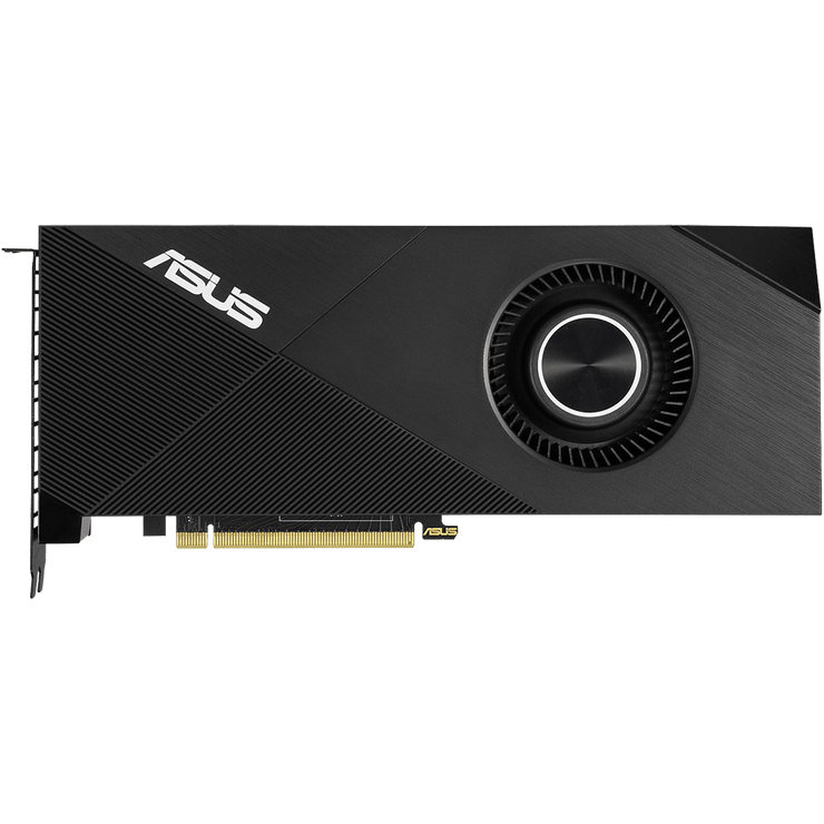 ASUS Turbo GeForce RTX 2060 Graphics Card TURBO-RTX2060-6G  top view