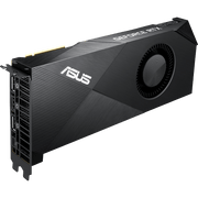 ASUS Turbo GeForce RTX 2080 Ti Graphics Card TURBO-RTX2080TI-11G fan side view