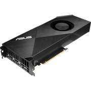 ASUS Turbo GeForce RTX 2080 Ti Graphics Card TURBO-RTX2080TI-11G fan angular view