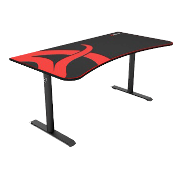 Arozzi Arena Gaming Desk - Black ARENA-NA-BLACK side view