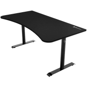 Arozzi Arena Gaming Desk - Pure Black ARENA-NA-PURE-BLACK side view