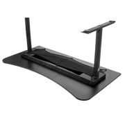 Arozzi Arena Gaming Desk - Pure Black ARENA-NA-PURE-BLACK upside down view