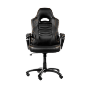 Arozzi Enzo Gaming Chair - Black ENZO-BK front view