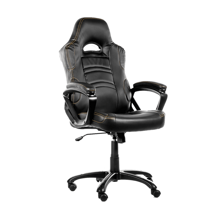 Arozzi Enzo Gaming Chair - Black ENZO-BK sideways view