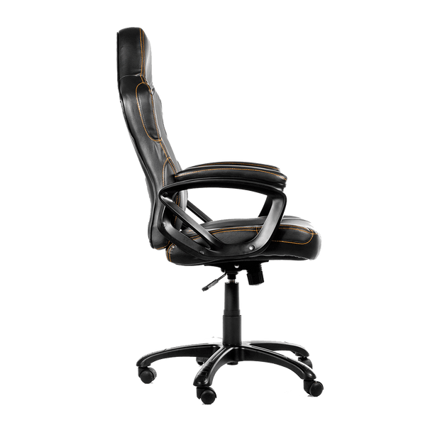 Arozzi Enzo Gaming Chair - Black ENZO-BK side view