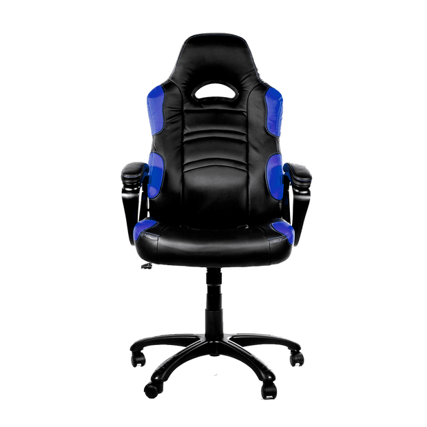 Arozzi Enzo Gaming Chair - Blue ENZO-BL front view