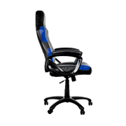 Arozzi Enzo Gaming Chair - Blue ENZO-BL side view