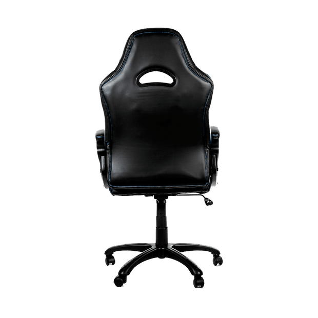Arozzi Enzo Gaming Chair - Blue ENZO-BL back view