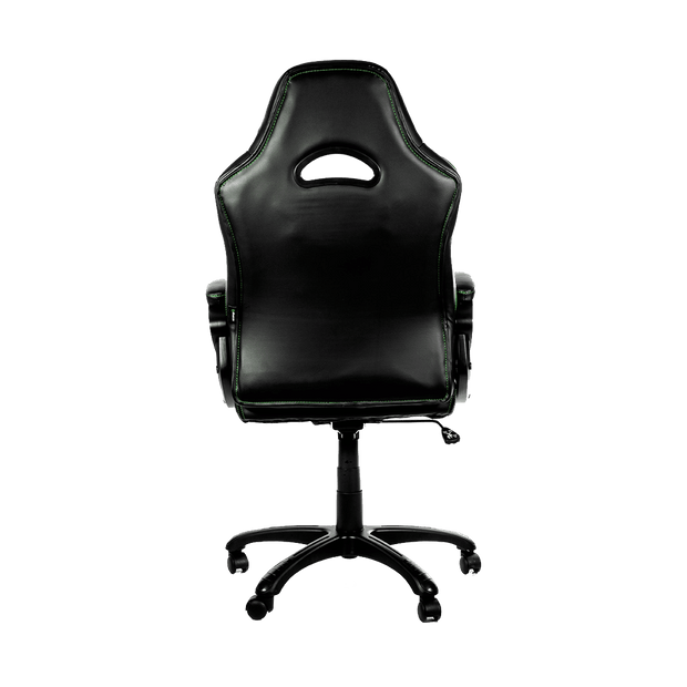 Arozzi Enzo Gaming Chair - Green ENZO-GN back view