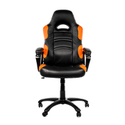 Arozzi Enzo Gaming Chair - Orange ENZO-OR front view