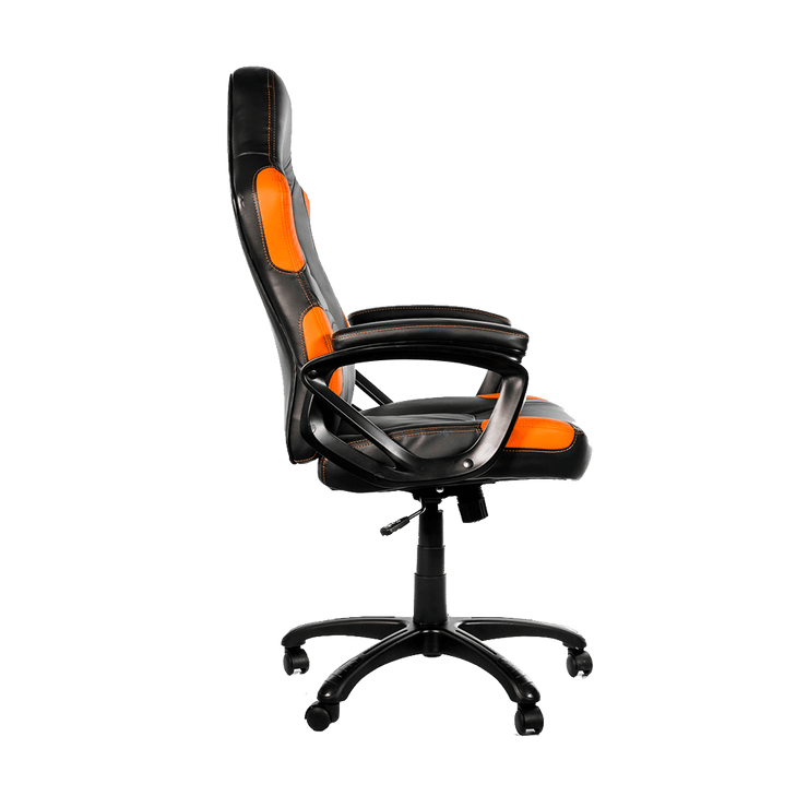 Arozzi Enzo Gaming Chair - Orange ENZO-OR side view