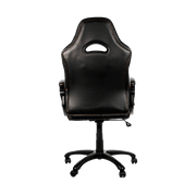 Arozzi Enzo Gaming Chair - Orange ENZO-OR back view