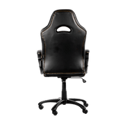 Arozzi Enzo Gaming Chair - Black ENZO-BK back view