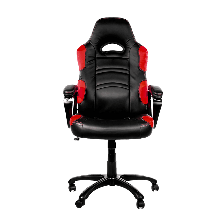 Arozzi Enzo Gaming Chair - Red ENZO-RD front view