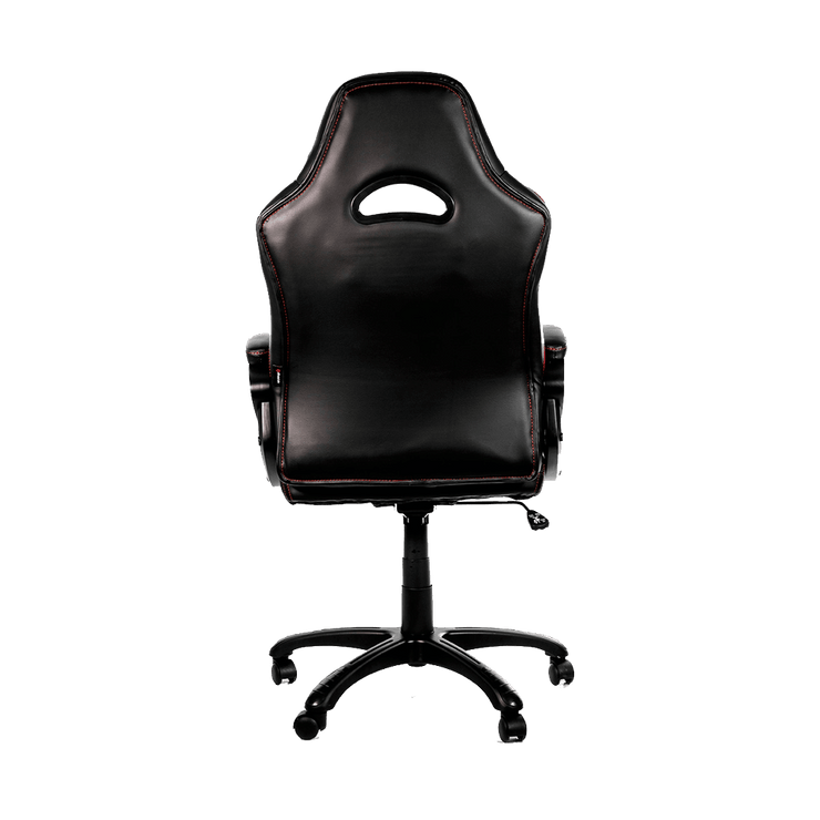 Arozzi Enzo Gaming Chair - Red ENZO-RD back view