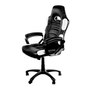 Arozzi Enzo Gaming Chair - White ENZO-WH sideways view