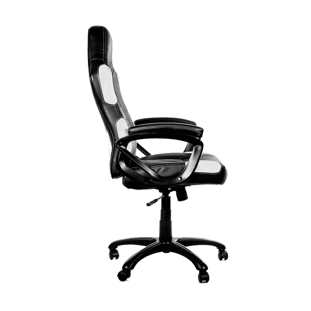 Arozzi Enzo Gaming Chair - White ENZO-WH side view