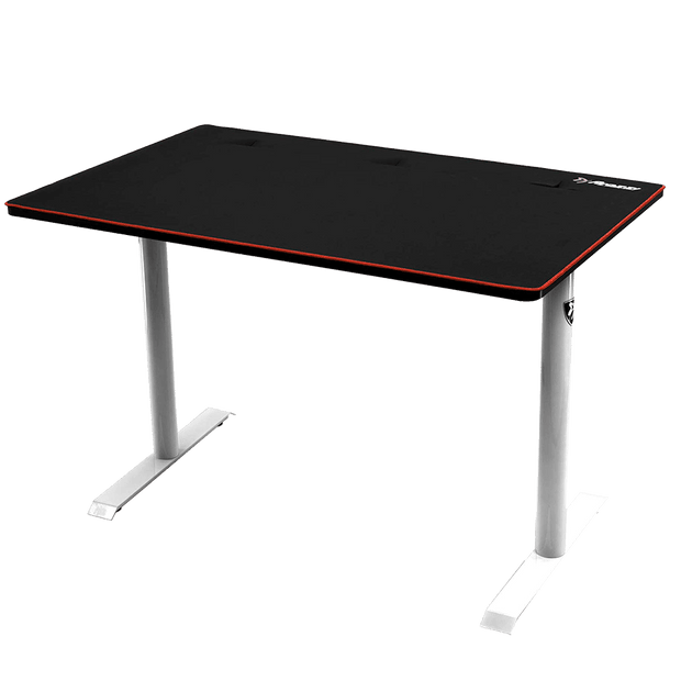 Arozzi Arena Leggero Gaming Desk - White ARENA-LEGGERO-WHITE side view