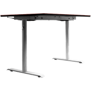 Arozzi Arena Leggero Gaming Desk - White ARENA-LEGGERO-WHITE base and legs view