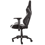 CORSAIR T1 RACE 2018 Gaming Chair - Black/White CF-9010012-WW side view