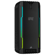 CORSAIR ONE i140 Gaming Desktop CS-9020004-NA front panel view