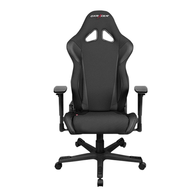 DXRacer Racing RW106/N Gaming Chair - Black OH/RW106/N front view
