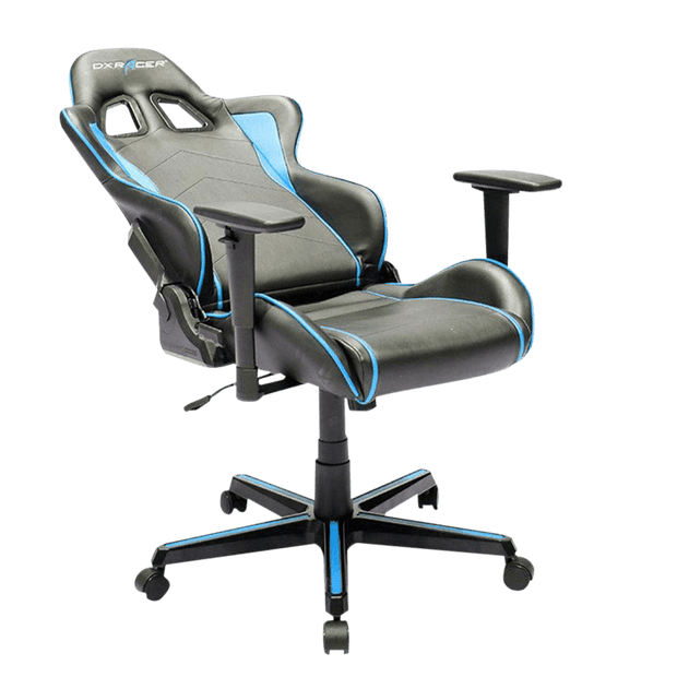 DXRacer Formula FH08/NB Gaming Chair - Blue OH/FH08/NB general tilted seat view