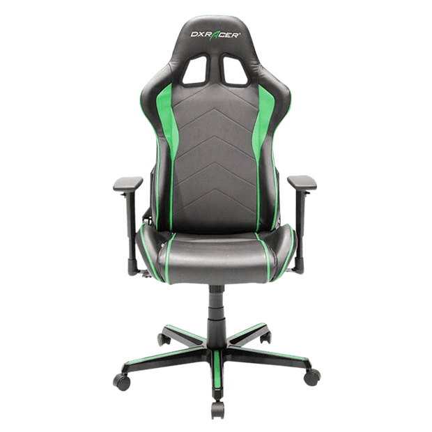 DXRacer Formula FH08/NE Gaming Chair - Green OH/FH08/NE front view