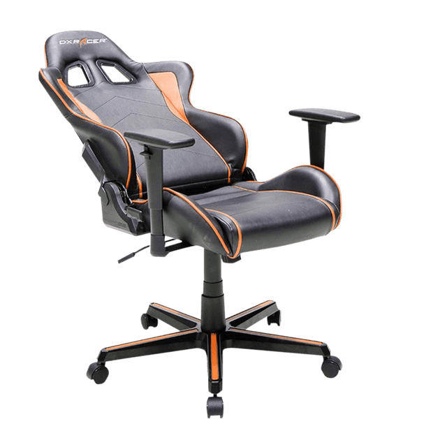 DXRacer Formula FH08/NG Gaming Chair - Grey OH/FH08/NG tilted seat view