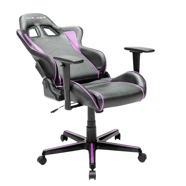 DXRacer Formula FH08/NP Gaming Chair - Pink OH/FH08/NP tilted seat view