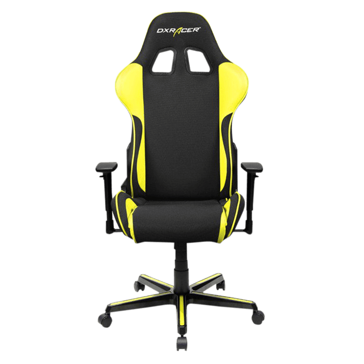 DXRacer Formula FH11/NY Gaming Chair - Yellow OH/FH11/NY front view