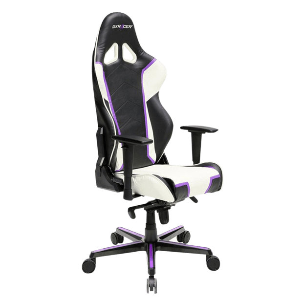 DXRacer Racing RH110/NWV Gaming Chair - White and Violet OH/RH110/NWV general view