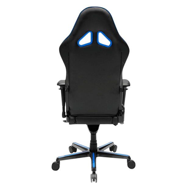 DXRacer Racing RV001/NB Gaming Chair - Blue OH/RV001/NB back view