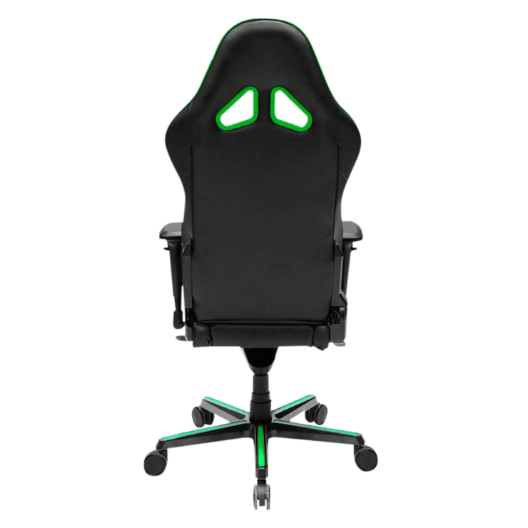 DXRacer Formula RV001/NE Gaming Chair - Green OH/RV001/NE back view