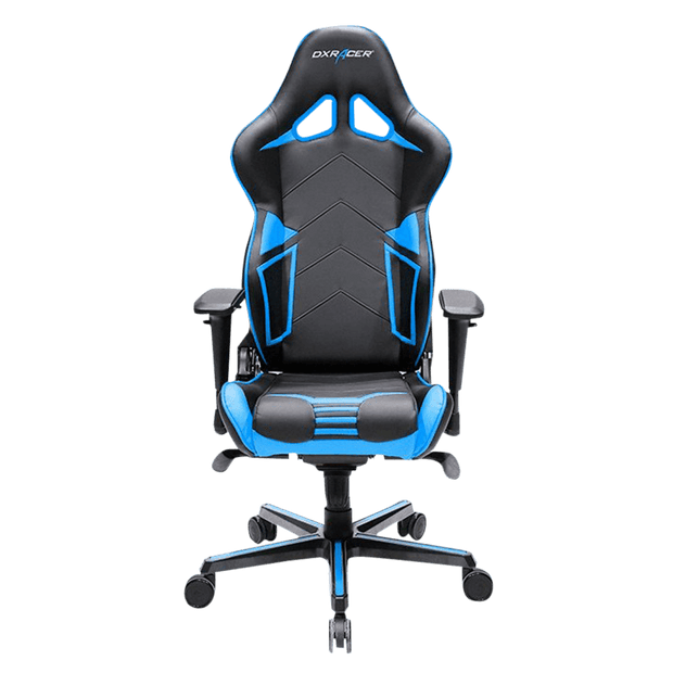 DXRacer Racing RV131/NB Gaming Chair - Blue OH/RV131/NB front view