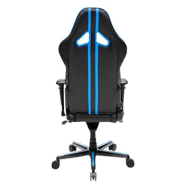 DXRacer Racing RV131/NB Gaming Chair - Blue OH/RV131/NB back view