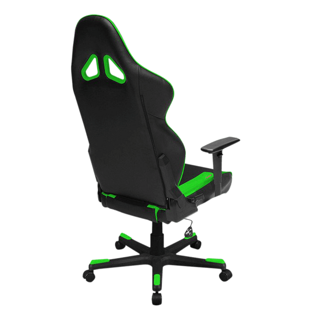 DXRacer Racing RW106/NE Gaming Chair - Green OH/RW106/NE general back view