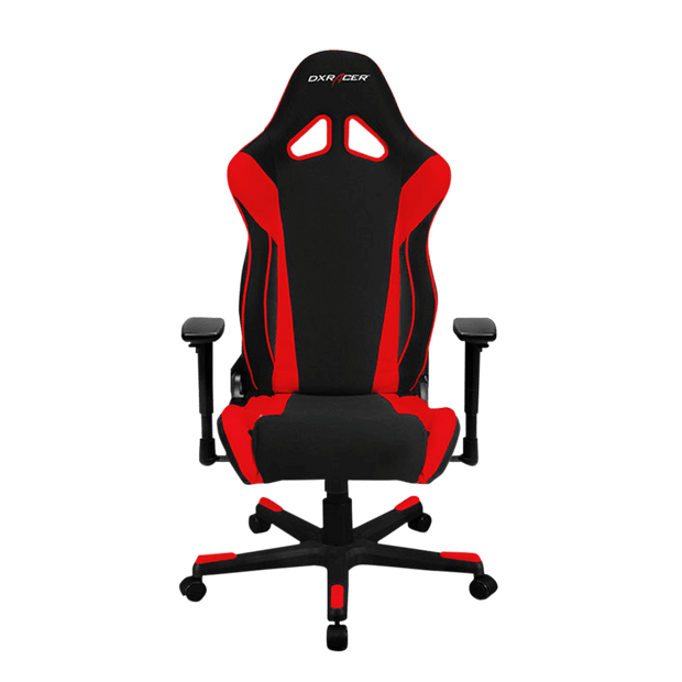 DXRacer Racing RW106/NR Gaming Chair - Red OH/RW106/NR front view