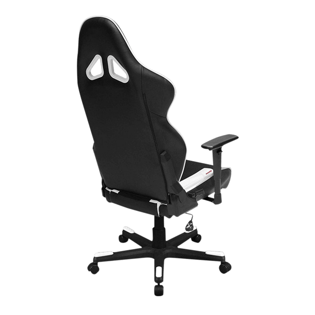 DXRacer Racing RW106/NW Gaming Chair - White OH/RW106/NW back view