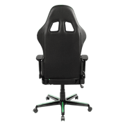 DXRacer Formula FH08/NE Gaming Chair - Green OH/FH08/NE back view