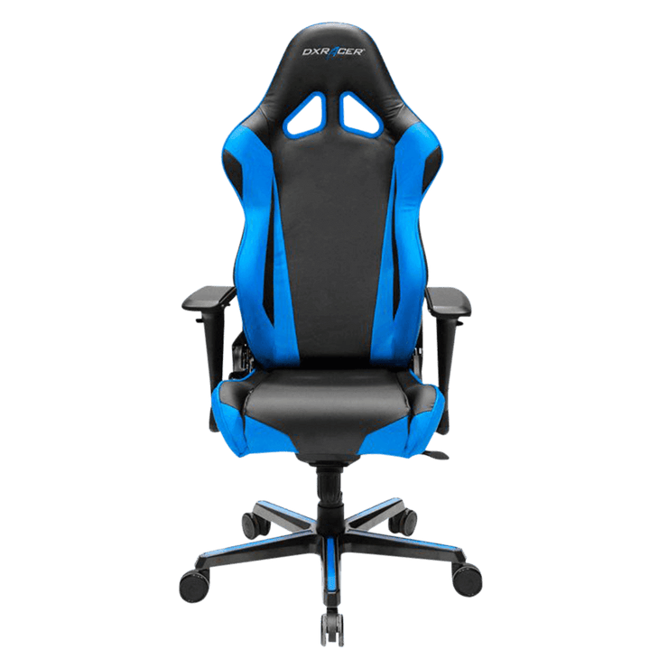 Incredible Dxracer Racing Rv001 Nb Gaming Chair Blue Pipertech Inc Alphanode Cool Chair Designs And Ideas Alphanodeonline