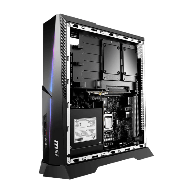 MSI TRIDENT X 9SE-047CA Gaming Desktop TRIDENT X 9SE-047CA side open panel view