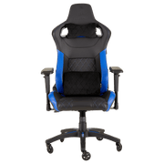 CORSAIR T1 RACE 2018 Gaming Chair - Black/Blue CF-9010014-WW front view