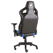 CORSAIR T1 RACE 2018 Gaming Chair - Black/Blue CF-9010014-WW angular back view