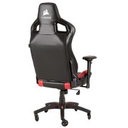 CORSAIR T1 RACE 2018 Gaming Chair - Black/Red CF-9010013-WW  angular back view