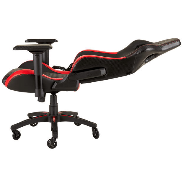 CORSAIR T1 RACE 2018 Gaming Chair - Black/Red CF-9010013-WW seatdown view