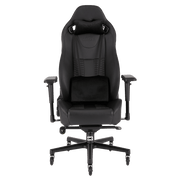 CORSAIR T2 ROAD WARRIOR Gaming Chair - Black/Black CF-9010006-WW front view