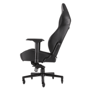 CORSAIR T2 ROAD WARRIOR Gaming Chair - Black/Black CF-9010006-WW side view