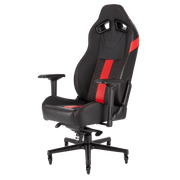 CORSAIR T2 ROAD WARRIOR Gaming Chair - Black/Red CF-9010008-WW general view